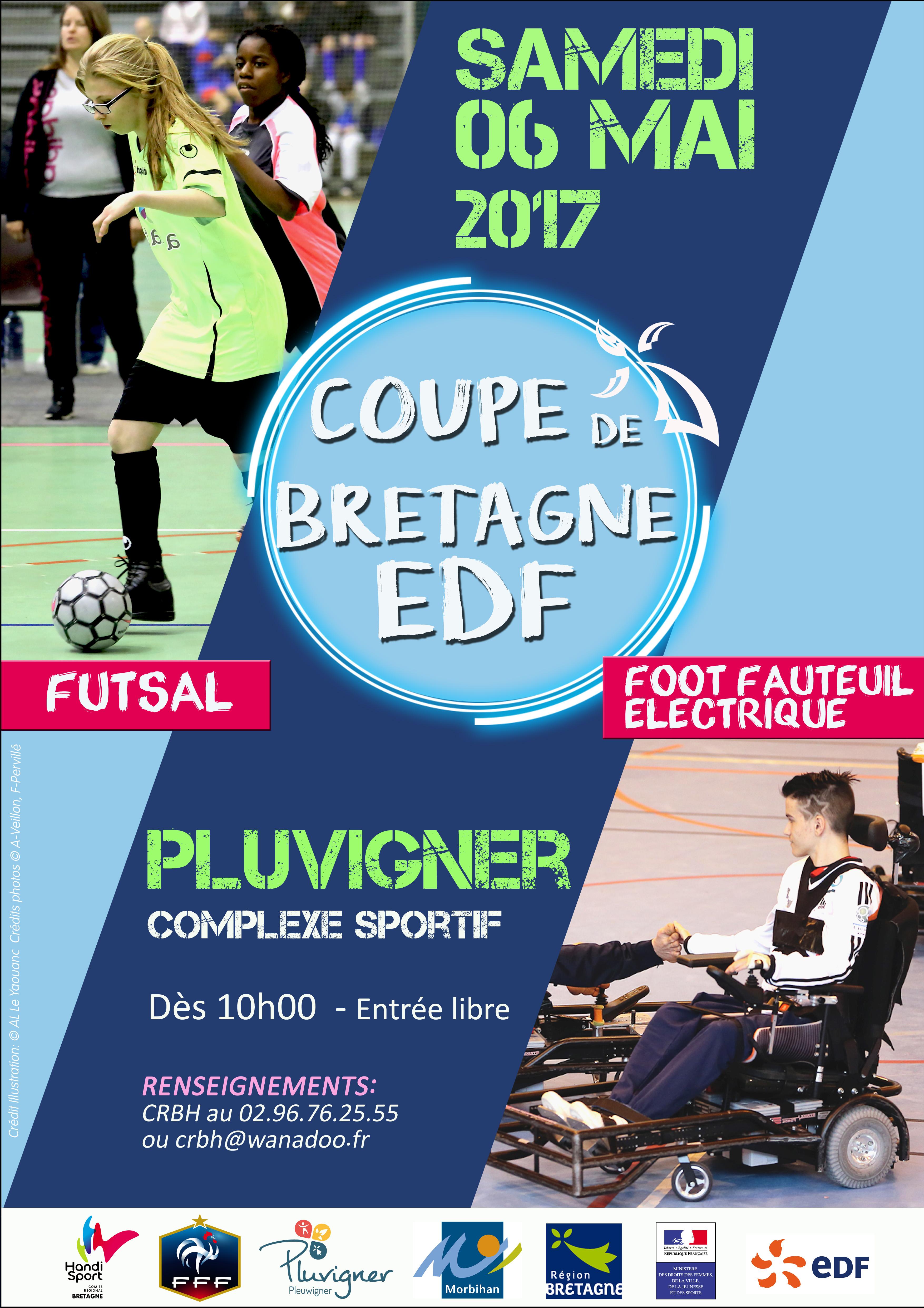 Affiche Coupe de Bretagne EDF