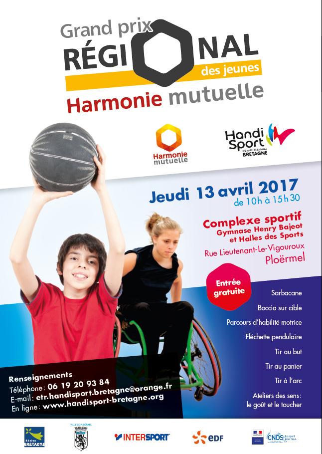 Affiche Grand Prix Régional des Jeunes 2017