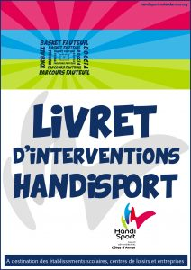Couverture du livret Intervention Handisport